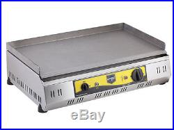 110v electric stainless steel grill griddle bbq barbecue patio cooking plate 18