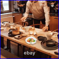 1Pc Kitchen Supply Restaurant Food Plate Fruit Plate for Home Living Room