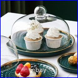 1Set Food Holder Party Supply Display Plate for Display Restaurant
