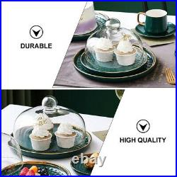 1Set Party Supply Dessert Container Display Plate for Restaurant Home