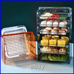 1Set Side Dishes Plate Kitchen Supplies Storage Holder for Home Restaurant