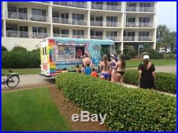 2001 CHEVY REAL ICE CREAM & SNOW CONE TRUCK With HUGE NELSON COLD PLATE FREEZER