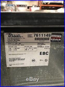 2013 True Glass & Plate Chiller Model T-36-gc Runs Great
