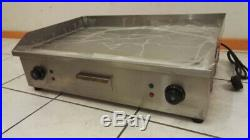 2019 Hot Sale Commercial Stainless Steel Electric Griddle(Flat Plate) 73 CM MD