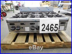 2465-New-S&D Heavy Duty Natural Gas Hot Plate, Model VHP636-1