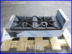 2730-New-S&D Heavy Duty 2-Burner 12 Propane Gas Hot Plate, Model VHP212-2