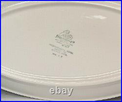 2 Shenango China Restaurant Ware International Hotel Supply Dinner Oval Plate