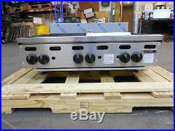 3168 NEW S&D Vulcan Heavy Duty 36 6-Burner Hot Plate, Model VHP636-1