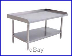 36 Hd 6 Burner Heavy Duty Commercial Counter Top Gas Hot Plate Gas W Table Pkg