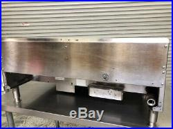 36 Thermostatic Gas Griddle Flat Top Grill Chrome Plate Garland GTGG36 #9608
