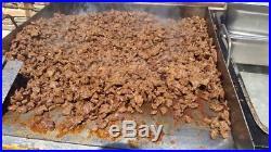 41 Taco, Hot Dog, Pupusa's Cart Carro Flat Top Griddle Plate Plancha