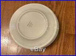 4 Vintage Jackson China Floral Blue Bird Hummingbird Restaurant Supply 9 Plates