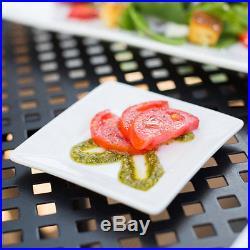 72 NEW Core 4 Bright White Restaurant Catering Square China Plates 303KSE4