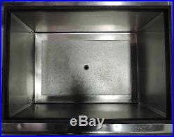 Advance Tabco Prestige Ice Bin with Cold Plate, Bottle Storage, & Blender Station