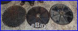 Antique Enterprise 8 Quart Sausage Stuffer Press With Plates