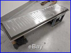 Atlas Metal Model WF-6 Frost Top Drop-In Unit Salad Bar Cold Plate