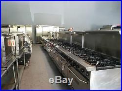 Atosa 24 Heavy Duty Hot Plates 4 Burners NG or LP Propane ATHP-24-4