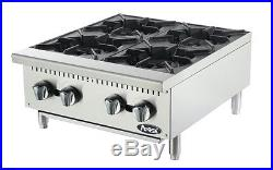 Atosa ATHP-24-4 brand new commercial restaurant 24 four burner hot plate