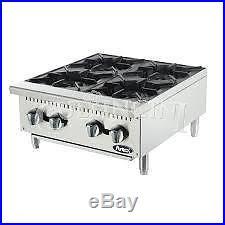 Atosa Hot Plate, 4 Burners, 25,000 BTU's per Burner Propane ATHP-24-4