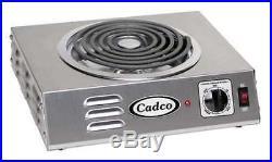 CADCO CSR-3T Hot Plate, Single, Hi-Power, Tubular