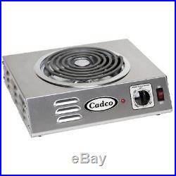 Cadco CSR-3T Single Hot Plate 120V/1,500W