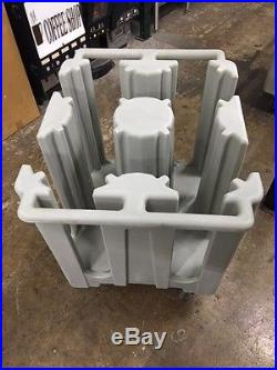 Cambro Dish Caddy Cart for 8 1/4 Plates