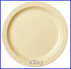 Cambro Plate, 9, Polycarbonate Beige PK48, CA9CWNR133