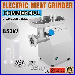 Commercial Electric Meat Grinder Sausage Filler Blade Plate Mincer Butcher Shop