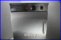 Commercial Single Door Hot Cupboard Keep Warm Plate Food Warmer 450mm