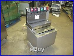 Cornelius CB2323AL6 6 Flavor Soda Fountain Machine Cold Plate Ice Bin Carbonator
