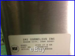 Cornelius Under Bar Ice Well with Cold Plate 9 Circuits Stainless Cocktail Soda