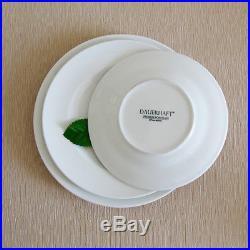 Dauerhaft Dinnerware Restaurant Dinner Plate 10 1/4, Porcelain, White, Rimmed, 3dz