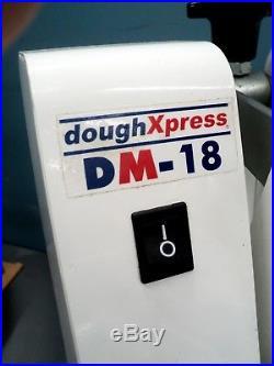 Dough Press DoughXpress DM-18 Tortilla, Pizza Press 18 Upper Heated Plate