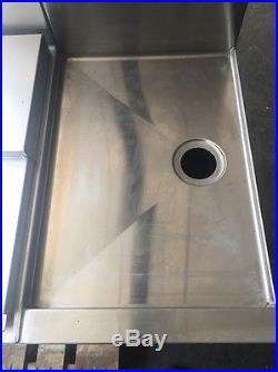 Eagle Group Custom YBAR-0196-00 8 Line Soda Tap Ice Bin Cold Plate Drain Broad