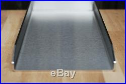Edelstahl Plancha / Grillplatte / 590 x 450 x 4mm/ Griddle-Plate