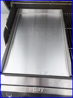 Edelstahl Plancha für Napoleon Gasgrills / Grillplatte / Griddle-Plate