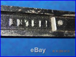 Enterprise 2 Quart Cast Iron Sausage Stuffer Lard Press with 2 plates mesh plate