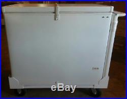 Fricon 6FFE 9.7 CF Eutectic Cold Plate Push Cart Ice Cream Freezer Free Shipping