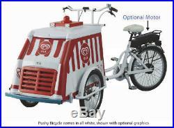 Fricon FMBC Pushy BICYCLE Cold Plate Ice Cream Freezer FREE SHIPPING