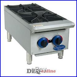 Globe C12HT Chefmate Series Gas Hot Plate 50,000 BTU