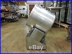 Gold Medal 2703-00-000 Cheddar Tumbler/Coater with Hot Plate & Heat Lamp