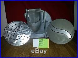 HOBART PELICAN HEAD Complete w S-Blade & Shredder Disc Plate Holder Fits #12 HUB