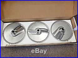 Hobart PLTSS-6PACK 6 Plate Pack with 2 Wall Racks For FP100 Food Processor