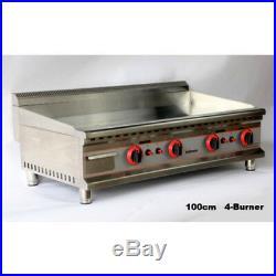 INFERNUS 1000mm 4 Burner LPG Gas Griddle 12mm CHROME Plate (£750 + Vat)