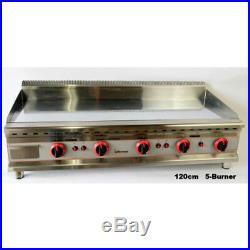 INFERNUS 1200mm 5 Burner LPG Gas Griddle 12mm STEEL Plate £550.00 +Vat