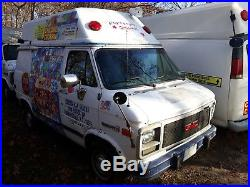 Ice Cream Truck With Cold Plate Freezer