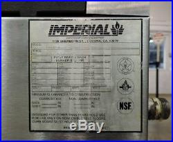 Imperial IHPA-4-24 Commercial Heavy Duty Countertop 4 Burner Gas Hot Plate