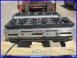 Imperial Ihpa-3-36 Gas 3 Burner Hotplate Hot Plate Commercial Restaurant Range