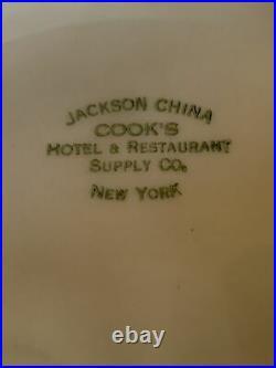 JACKSON CHINA COOK'S HOTEL RESTAURANT SUPPLY Diamond plate HUMMINGBIRD -rare