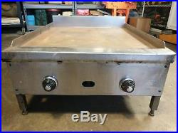 Jade Range 24 Thermostatic Flat Top Griddle with 1 inch thick Griddle Plate